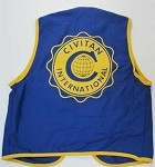 Civitan Logo Vest Small Clubs are responsible for any personalization of apparel items.