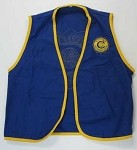 VEST - MEDIUM  Clubs are responsible for any personalization of apparel items.