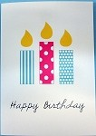 BIRTHDAY CARDS,  PKG OF 10