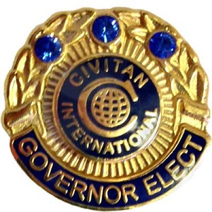 GOVERNOR-ELECT PIN