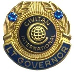 LT GOVERNOR PIN