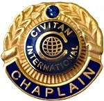 CHAPLAIN PIN (District)