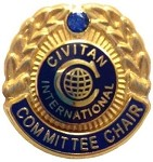 COMMITTEE CHAIR PIN (District)