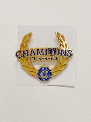 CHAMPION OF SERVICE PIN
