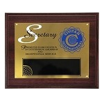 SECRETARY PLAQUE