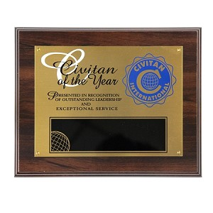 CIVITAN OF THE YEAR PLAQUE