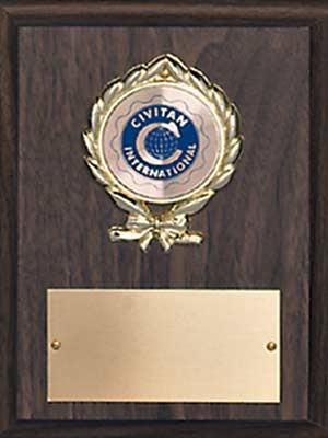 GENERAL RECOGNITION AWARD PLAQUE