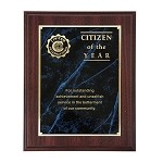 CITIZEN OF THE YEAR PLAQUE