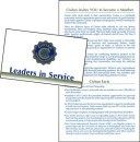 CIVITAN INFORMATION CARD---pkg of 100