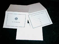 INVITATION TO MEETING W/ENVELOPE, package of 25