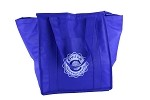 NEW WAVE INSULATED SHOPPER BLUE TOTE  (30% off!)