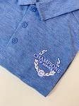 Small Men's Polo Heather Royal