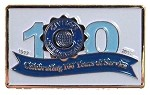 Centennial Celebration lapel Pin