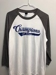 Raglan Gray Frost/White  Large