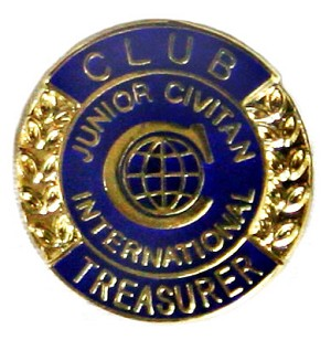 CLUB TREASURER (Junior Civitan)