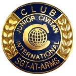 CLUB SERGEANT-AT-ARMS (Junior Civitan)