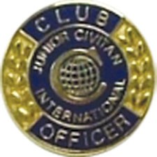 CLUB OFFICER PIN