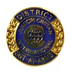 DISTRICT SGT-AT-ARMS PIN