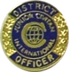DISTRICT OFFICER PIN